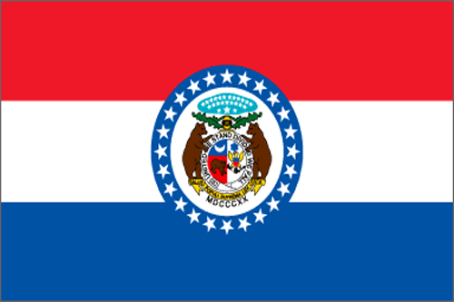 [Image of The Missouri State Flag]