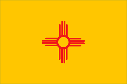 [Image of The New Mexico State Flag]