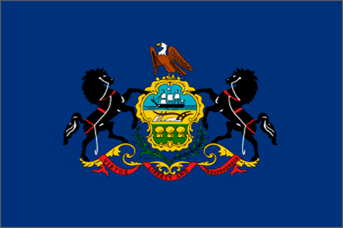 [Image of The Pennsylvania State Flag]