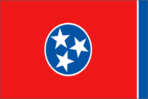 [Image of The Tennessee State Flag]