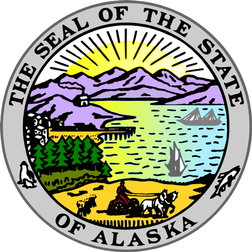 [Image of The Alaska State Seal]