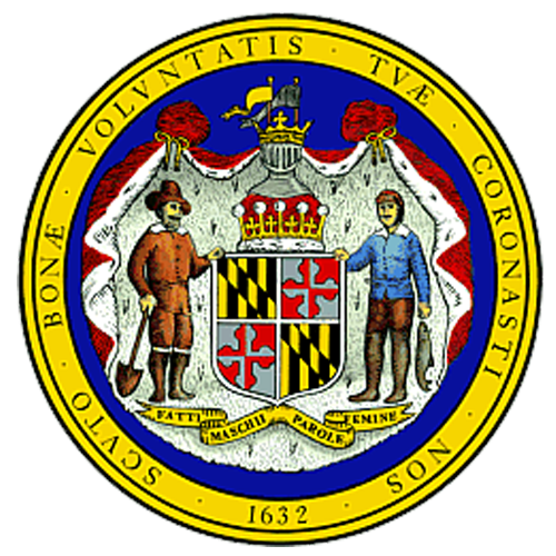 [Image of The Maryland State Seal]