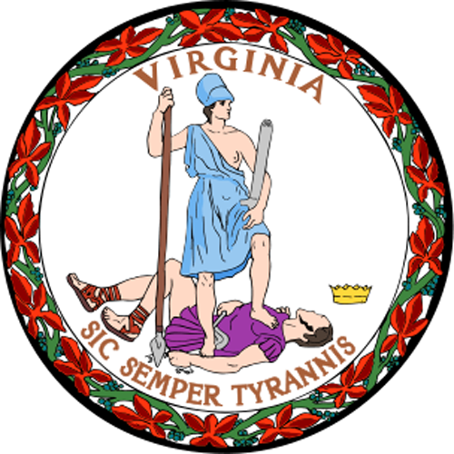 [Image of The Virginia State Seal]
