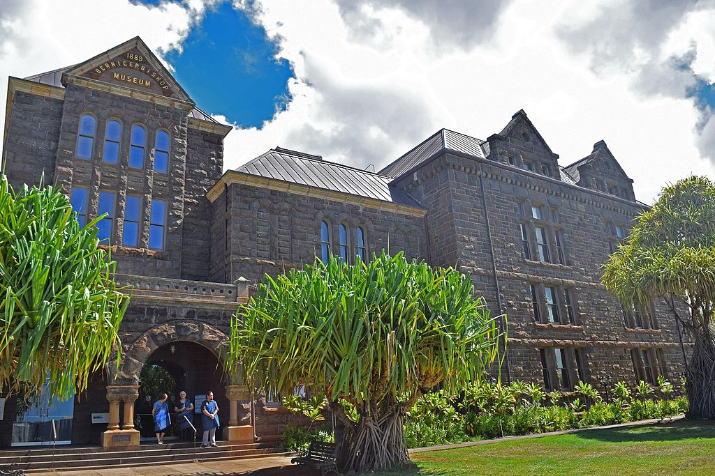 Hawaii State Museum of Natural and Cultural History or the Bishop Museum