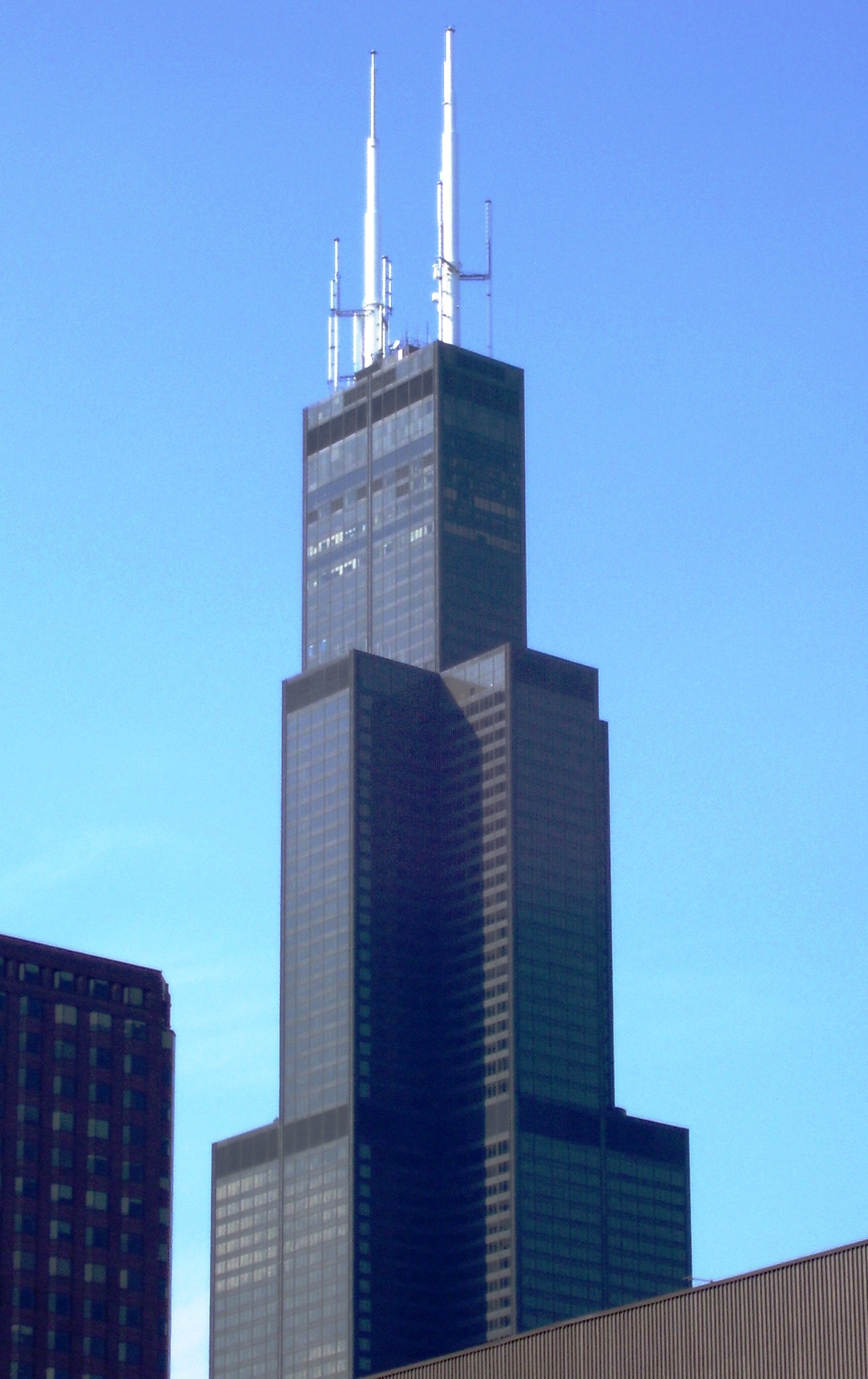 Willis tower sears tower illinois for How many floors are in the sears tower