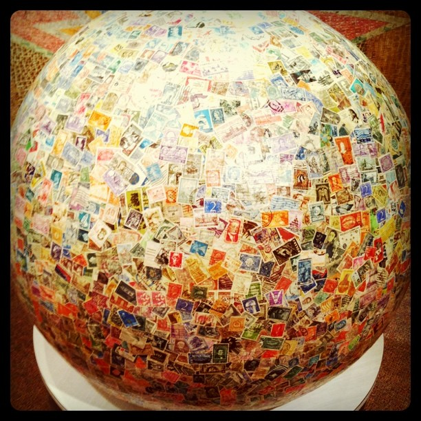 Worlds Largest Ball of Stamps