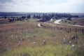 Little Bighorn cemetery overview.